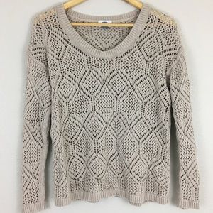 Old Navy | Tan Knit Sweater